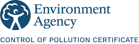 Environment Agency Control Of Pollution Certificate